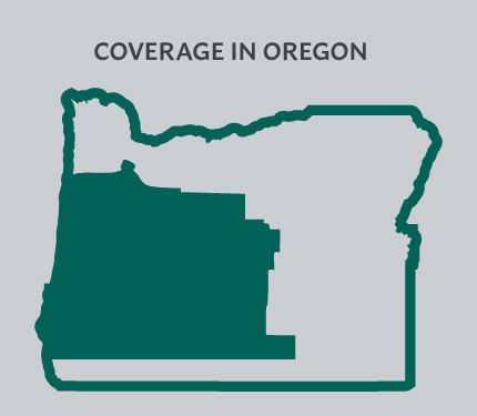 Coverage in Oregon